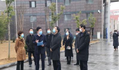 陈少荣市长来我校督导疫情防控工作