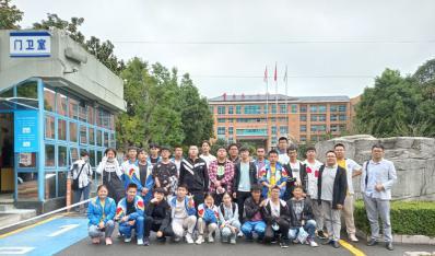 铜仁一中化学竞赛代表队赴贵阳参加第34届中国化学奥林匹克初赛