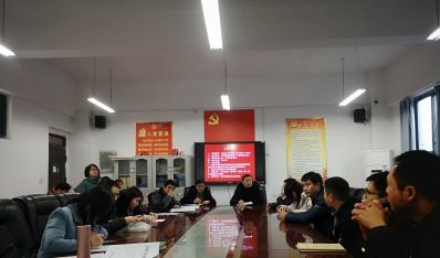 教师第一党支部召开2020年度组织生活会暨民主评议工作会